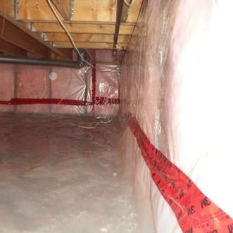 insulated crawlspace