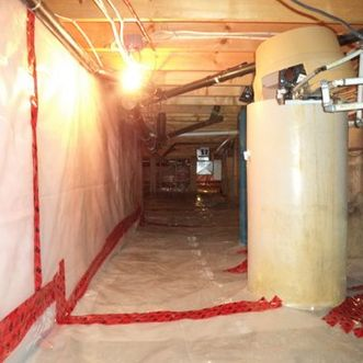 restored crawlspace